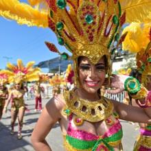 Batalla de Flores. Barranquilla Carnival. Colombia Photo Expedition, Feb. 2018. Photo © KIKE CALVO