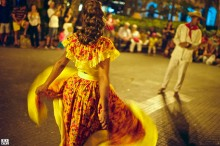 Afro-Colombian dances in Cartagena de Indias, Colombia. Photo © KIKE CALVO