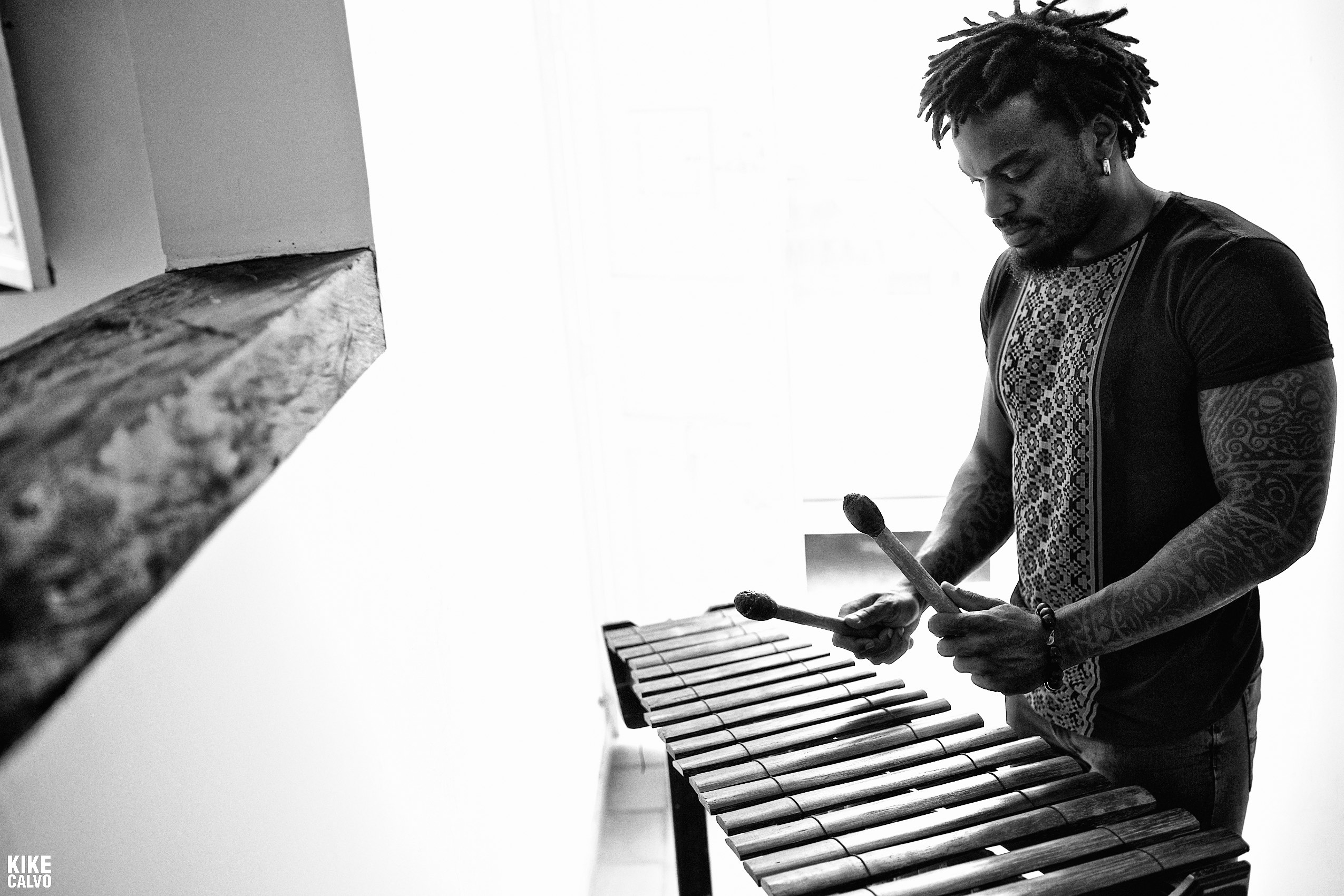 Colombian Marimba Player Esteban Copete