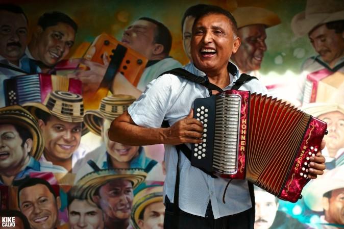 Colombian vallenato composer Beto Murgas