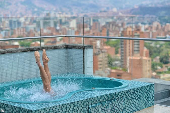 Ballerina in Medellin