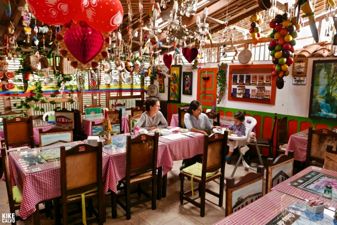 Traditional Antioquian restaurant